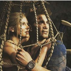 Nate & Elena in Uncharted 4: A Thief's End