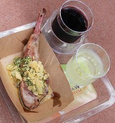 Epcot Food and Wine Festival 2014 - Australia. Grilled Lamb Chop. Fit and Healthy with Jackie Caldwell | AUSTRALIA