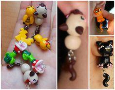 #earrings #kawaii #piranha #JakeTheDog #Pikachu #Cats