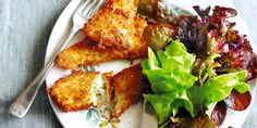 These Fish Fingers use sustainable fish and have a gluten-free crumb! Pair with a leafy salad, or peas or green beans.