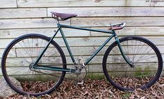 Early 1900' Lo Pro Track Bike by SF-Elegance…