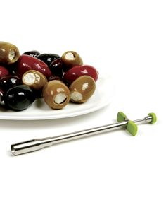 PRODUCT DESCRIPTION: Bring an elegant touch to hors d'oeuvres and cocktails with this slick olive stuffer. Add blue cheese, brie, crab, garl...