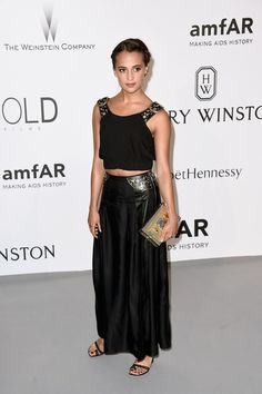 Alicia Vikander | 28 Looks From AmfAR's 22nd Cinema Against AIDS Gala