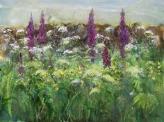 "iamjapanese: "" Ann Oram(British, here and here "" Botanical Illustration, Botanical Art, Elisabeth Frink, Aqua, Paintings For Sale, Life Is Beautiful, Contemporary Artists, Art Boards, Creative Art"