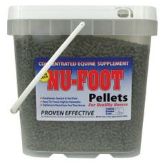 Nu-Foot Pellets - 11 pounds - By Farrier Science Clinic by MISSISSIPPI AG&FARRIER SUPPLY. $89.95