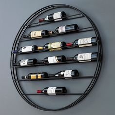Buy the Corsica Vertical Wood and Metal Wine Rack at Wine Enthusiast – we are your ultimate destination for wine storage, wine accessories, gifts and more! Wine Bottle Rack, Bottle Wall, Wine Bottles, Bottle Stopper, Wine Decanter, Bottle Opener, Wine Rack Storage, Wine Rack Wall, Hanging Wine Rack