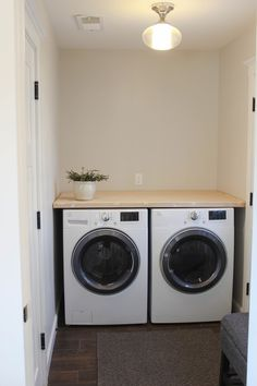 Counter over washer & dryer