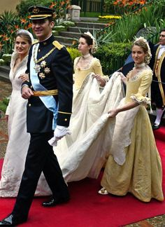 Prince Felipe of Asturias and Letizia Ortiz Rocasalano