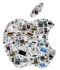 All things Apple . . .  Check out this amazing image from neoformix.com by Jeff Clark.