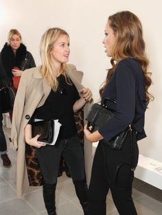 Marissa Montgomery and Camilla Al-Fayed