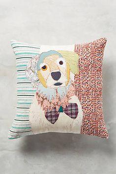 Patchwork Pup Pillow, Hound