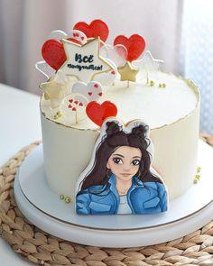 Crazy Birthday Cakes, 18th Birthday Cake, Birthday Cake Girls, Gorgeous Cakes, Amazing Cakes, Whipped Cream Cakes, Cake & Co, Cake Pictures, Cake Decorating Tutorials