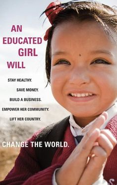 But in America, liberal activist get upset if someone suggests we shouldn't encourage young girls to drop out of school to have babies.