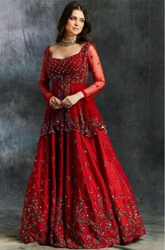 I bet all of you at some point of time have wondered what is Priyanka Chopra Sabyasachi Lehenga Cost? Well, in this post, I tell you exactly that. Sabyasachi Wedding Lehenga, Red Wedding Lehenga, Red Lehenga, Lehenga Choli, Pakistani Gowns, Indian Lehenga, Sharara, Pakistani Bridal, Indian Gowns Dresses