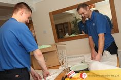 Ocean Care and its team members ensure safety of all your valuables while packing and shifting.