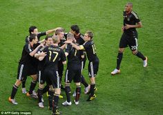 On song: Germany's brilliant victory was one of the most devastating in the history of the...