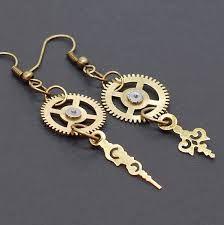 Risultati immagini per steampunk earrings