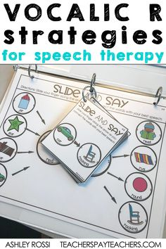 If you are looking for an effective way to treat your most difficult Vocalic R kids, try this co-articulation method. These speech therapy activities will help with placement and carry-over! Articulation Therapy, Articulation Activities, Speech Activities, Speech Pathology, Speech Therapy Activities, Speech Language Pathology, Speech And Language, Language Activities, Play Therapy Techniques
