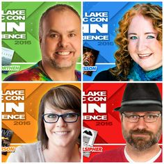 Meet panelists Johnny Worthen, JR Johansson, Holli Anderson, & Charlie Pulsipher at #FANX16. #utah