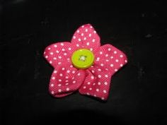 The girls love hair ties with these things, will have to see about making them some for head bands.