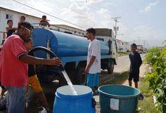 Alcaldía atiende con suministro gratuito de agua potable a comunidades guacareñas