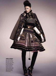 Punk Princess Frocks : Sonny Zhou Marie Claire