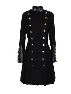 To find out about the Black Stand Collar Double Breasted Long Coat at SHEIN, part of our latest Outerwear ready to shop online today! Moda Steampunk, Coats For Women, Jackets For Women, Cheap Jackets, Long Winter Coats, Long Coats, Women's Coats, Langer Mantel, Stylish Coat