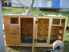 free pigeon loft plans | Every negative event effects my ability to own my APBT, please be a ...