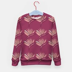 Kids sweater Pink flowers ethnic Design Shop, Pink Sweater, Pink Flowers, Ethnic, Shirt Dress, Live, Stylish, Sweaters, Mens Tops