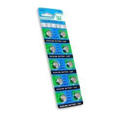AG13/LR44 Alkaline Button Cell Battery - 10 pack #AG/LR #Alkaline #Button #Cell #Battery #pack