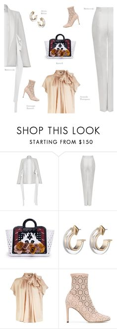 """Untitled #861"" by modernmoda ❤ liked on Polyvore featuring Maticevski, N°21, Alexis Bittar and Giuseppe Zanotti"