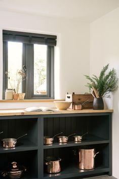 8 Misc Open Cabinets In Kitchen Ideas Stock Open Cabinets In Kitchen Ideas . 8 Misc Open Cabinets In Cozy Kitchen, Rustic Kitchen, New Kitchen, Natural Kitchen, Compact Kitchen, Devol Kitchens, Black Kitchens, Black And Copper Kitchen, Open Kitchen Cabinets