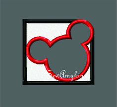SewAmykins - Mickey Mouse colorblock logo, $3.00 (http://www.sewamykins.com/mickey-mouse-colorblock-logo/)