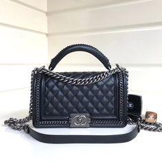 bdfca86e9efe18 63 Best Chanel Le Boy images | Chanel handbags, Satchel handbags, Shoes