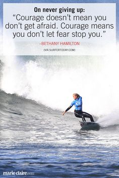 soul surfer gives hope Soul surfer is the true story of competitive teen surfer bethany hamilton, who lost her arm in a shark attack and courageously overcame all odds to become a champion again, inspiring millions.