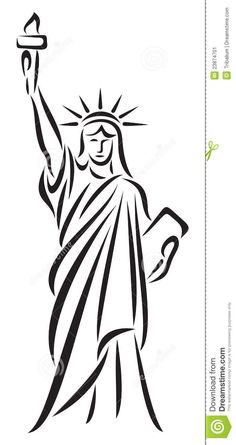 illustration of the statue of liberty with a transparent background rh pinterest com Statue of Liberty Torch Drawing Statue of Liberty Clip Art Cheering