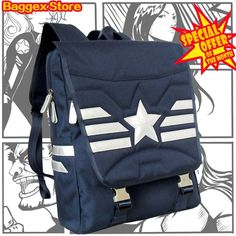 Captain America Rucksack Backpack Teenager Daypack Bag Special Offer This Month #BaggexStore #Backpack