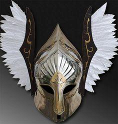 LOTR Gondor Fountain Guard; SCA functional helmet