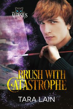 Hit there! I'm so excited to share a review and giveaway for a recently re-released paranormal M/M romance from Tara Lain. BRUSH WITH CATASTROPHE is the second book in her Aloysius tales seri…