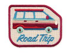 ROAD TRIP Aufnäher