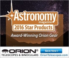 Check out Orion products that won 2016 Astronomy Magazine's Star Products Awards! These are the top products in the Astronomy field and perfect for your gear collection! Orion Telescopes, Astronomy, Binoculars, Awards, Star, Check, Collection, Products, All Star