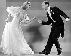 Fred and Ginger, the ultimate dancing pair. They knew they were good and danced as if they were celebrating their talent. Unbelievably wonderful to watch them together in every film they did together.