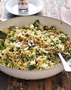 Cheat Curried Rice & Lentil Pilaf (by Fuss Free Cooking)