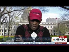 Mississippi's First Black Mayor Charles Evers Endorses Trump For President - YouTube