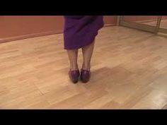 Dancing the Flamenco : Flamenco Dancing: Heel Golpe Steps - YouTube