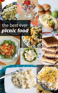 Picnic Foods on Pinterest | Picnic Foods, Picnics and Healthy Picnic ...