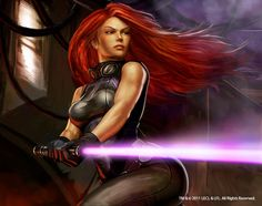 Submission 1 Design Element: Personal Interest Source: http://www.deviantart.com/art/Mara-Jade-Star-Wars-258828231