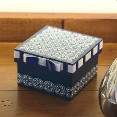 Wedding Gift Wrapping, Wedding Gifts, Basket Decoration, Box Decorations, Painted Boxes, Cube, Decorative Boxes, Arts And Crafts, Wraps