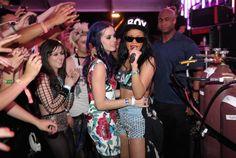 Pin for Later: Prominente Freundschaften wie aus dem Bilderbuch Rihanna und Katy Perry