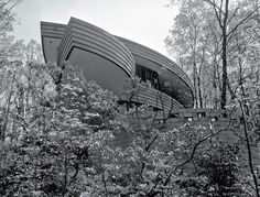 Pictured here is a house that famed architect Frank Lloyd Wright built in Bethesda, MD. Here at EYA, we strive to continue excellence in contemporary residential architecture for homebuyers in the D.C. area. Learn more at www.EYA.com